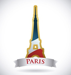 Paris design vector image vector image
