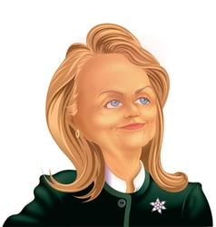 2016 Hillary vector image