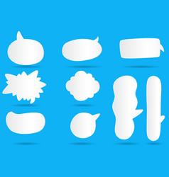 004 white paper communication bubbles for speech vector