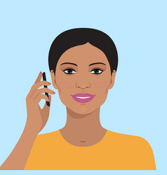 Business woman avatar vector