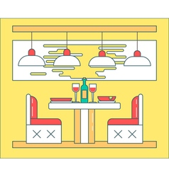 Cafe Yellow vector image