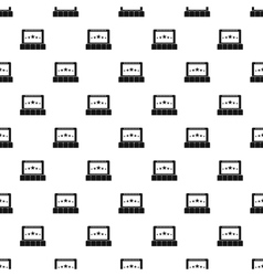 Cinema pattern simple style vector