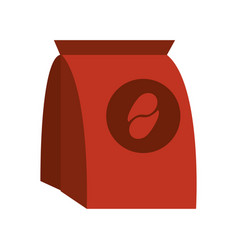 Coffee pack paper image vector