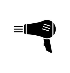 hairdryer graphic design template isolated vector image