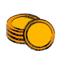 Money coins design vector