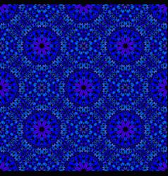 Oriental bohemian abstract floral petal pattern vector