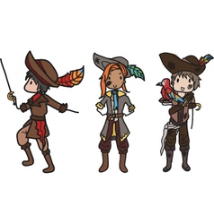 pirates vector image