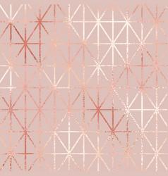 Rose gold elegant pattern for design vector
