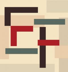 alphabet e f vector image vector image