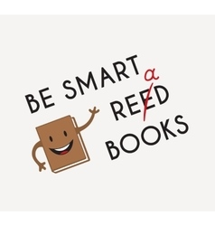 Funny Book vector image vector image
