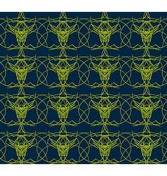 Seamless Art Deco texture vector image vector image