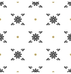 Trendy floral pattern Asian motifs seamless vector image vector image