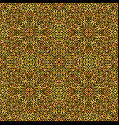 Abstract seamless bohemian gravel petal pattern vector