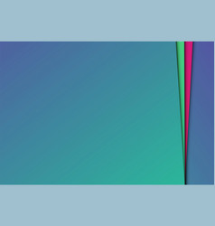 colorful abstract papers vector image