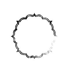 Decorative emblem banner vector