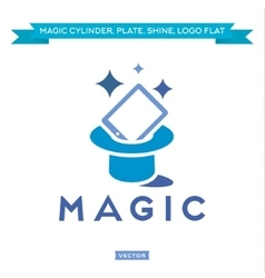 Magic Tablet from Cylinder everything sparkles vector