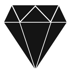 Purity jewel icon simple style vector