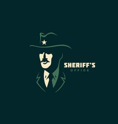 Sheriff logo vector