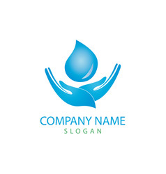 Water care logo vector