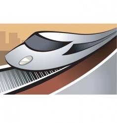 train vector image vector image