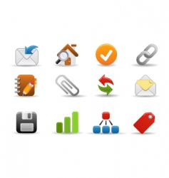 Web icons smooth series vector