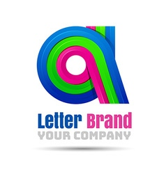 A Letter Logo Icon Element design Template for vector image vector image