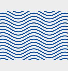 blue sine wave pattern background vector image