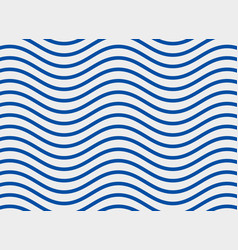 Blue sine wave pattern background vector