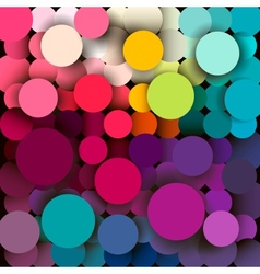 Colorful abstract geometric background with a vector image