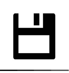 Floppy disk icon design vector