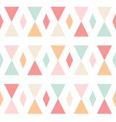 Geometric abstract triangles seamless pattern vector image