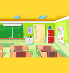 Lecture hall classroom or auditory lesson vector