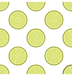 Lime abstract seamless pattern vector