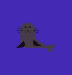 Seal animal icon cartoon of animal icon vector