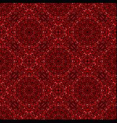 Seamless dark red gemstone oriental pattern vector