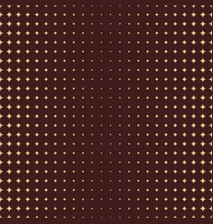 seamless modern pattern with golden stars vector image