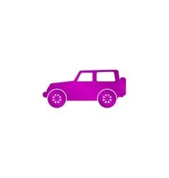 suv Icon concept for design vector image