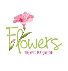 Tropic paradise vector