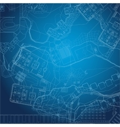 Blueprint Architectural background vector image vector image