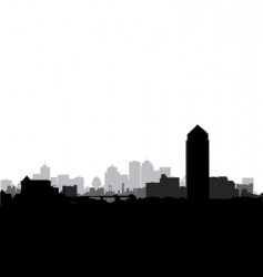 cityscape vector image vector image