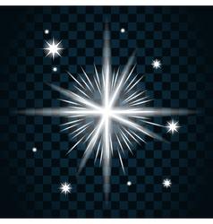 Shine star sparkle icon 16 vector image vector image