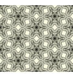 Abstract seamless pattern with a tracery figure vector