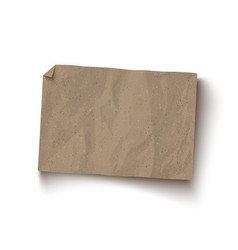 craft brown paper texture vector image