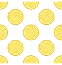 Lemon abstract seamless pattern vector