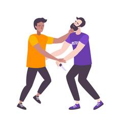 Self defense moves composition vector
