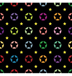 star background seamless vector image