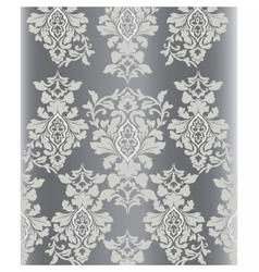 Vintage damask ornament pattern vector