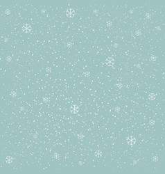 Winter snowy background fill with snow and vector