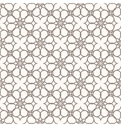 Abstract pattern in arabian vector image