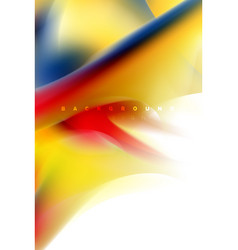 Holographic paint explosion design fluid colors vector